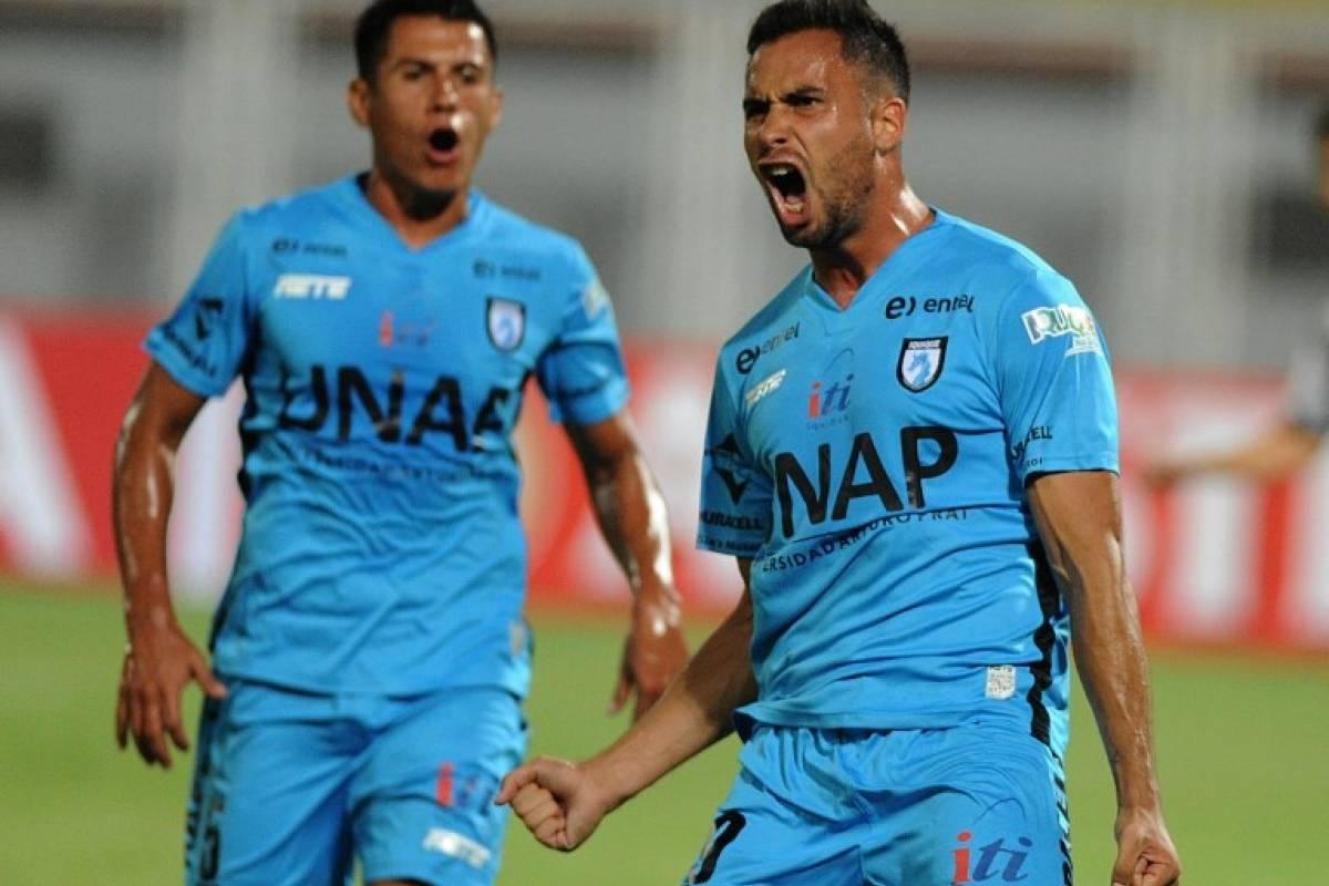 Iquique realizó una tremenda campaña, pero con 10 debió conformarse con ser 3º en el grupo 8 de la Libertadores / AFP
