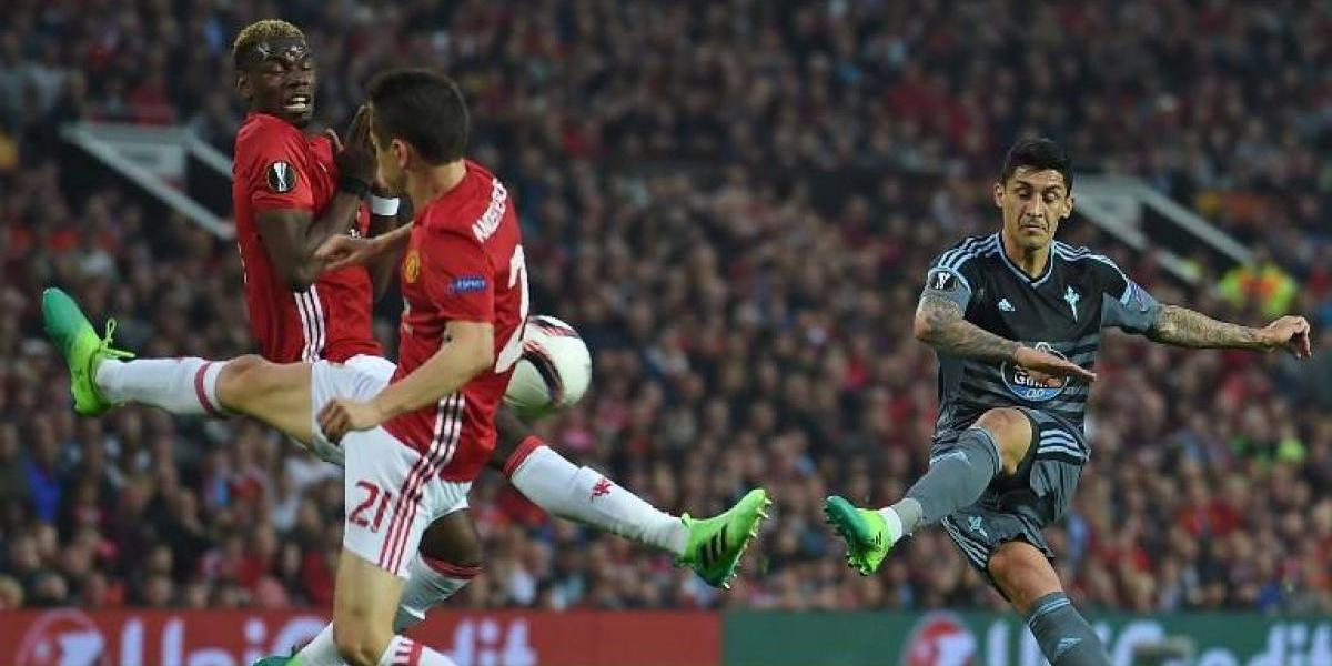 Con Pogba y Zlatan: el Tucu Hernández fue elegido entre los mejores de la Europa League