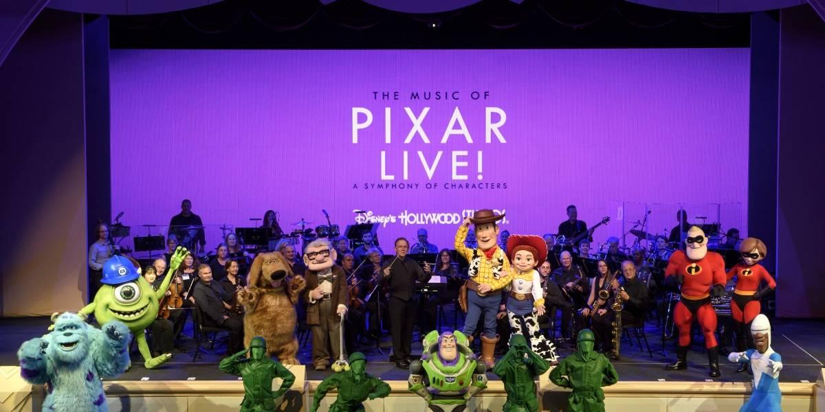 Mágicos conciertos sinfónicos de Pixar en Hollywood Studios