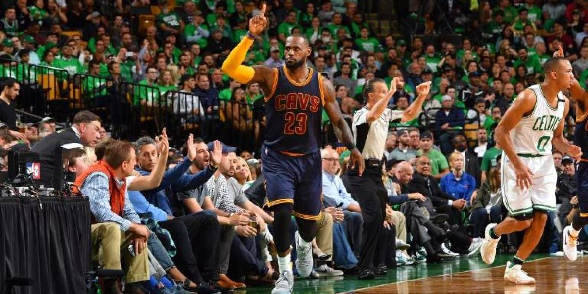 Un histórico LeBron James supera a Jordan y clasifica a los Cavaliers a la final de la NBA