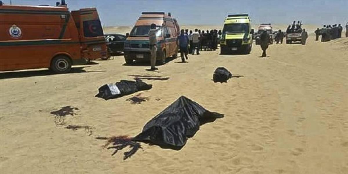 Más de 20 muertos en ataque contra cristianos en Egipto