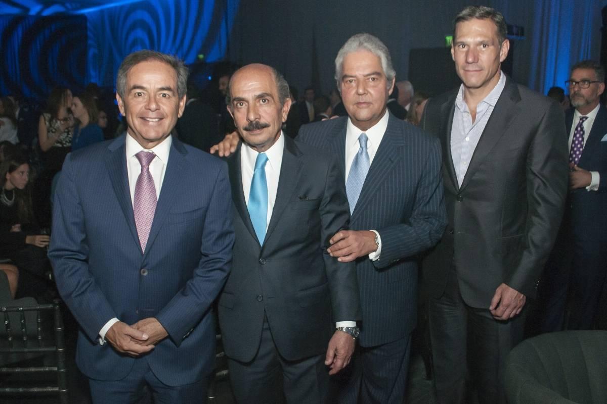 Daniel Goñi, Marcos Salame, Pablo Funtanet y Antonio López Bago. JDS