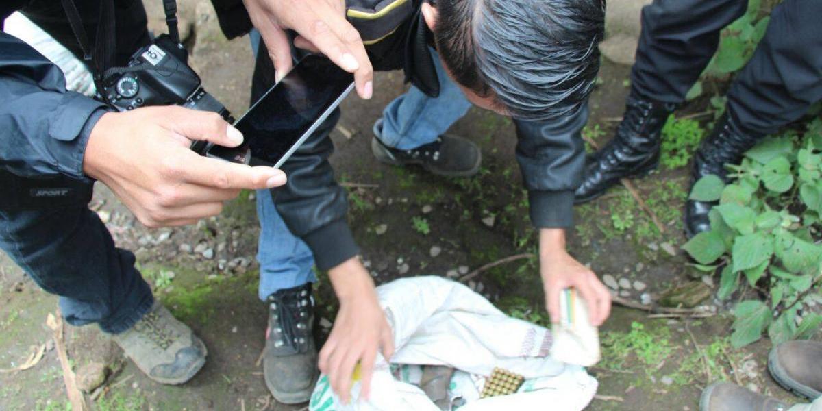 Estos son los hallazgos que ha hecho la PNC en allanamientos en Ixchiguán y Tajumulco