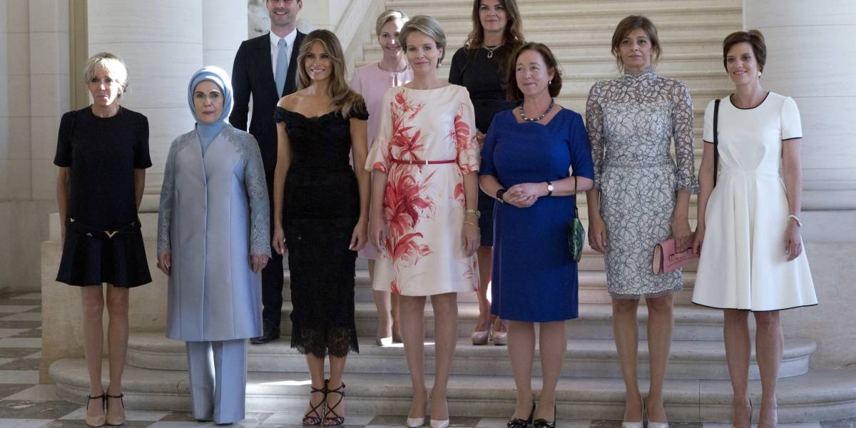 Esposo de primer ministro de Luxemburgo se une a primeras damas mundiales