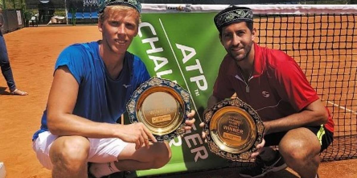 Podlipnik logró su tercera corona del año tras ganar la final del Challenger de Shymkent