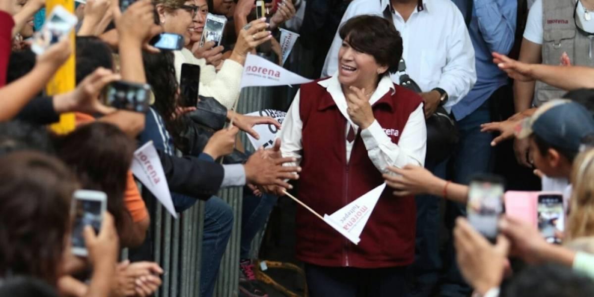 Pide Delfina Gómez a INE atraer elecciones en el Edomex