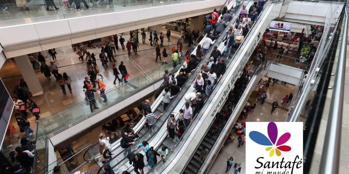 Autoridades atienden un robo en el centro comercial Santa Fe