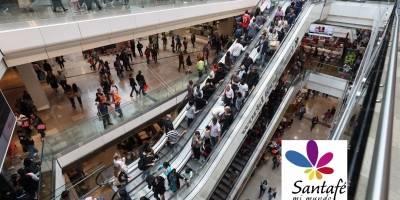 Asaltan local dentro de centro comercial en Bogotá