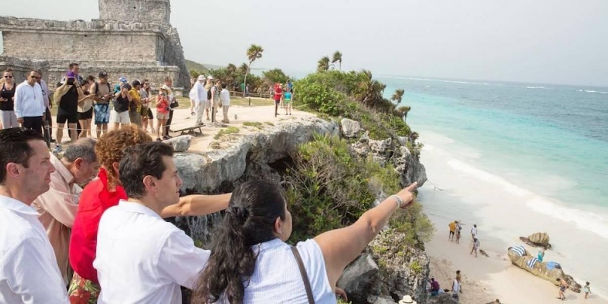 Enrique Peña Nieto visita por primera vez Tulum
