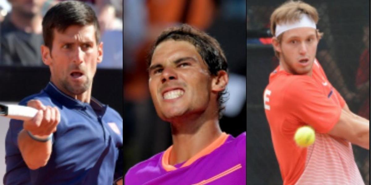 Nadal y Djokovic jugarían en teóricas semifinales de Roland Garros y Jarry espera rival