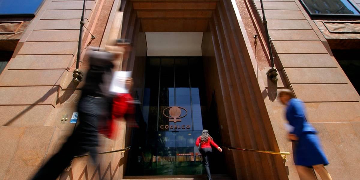 Codelco logra US$534 millones de excedentes en el primer trimestre