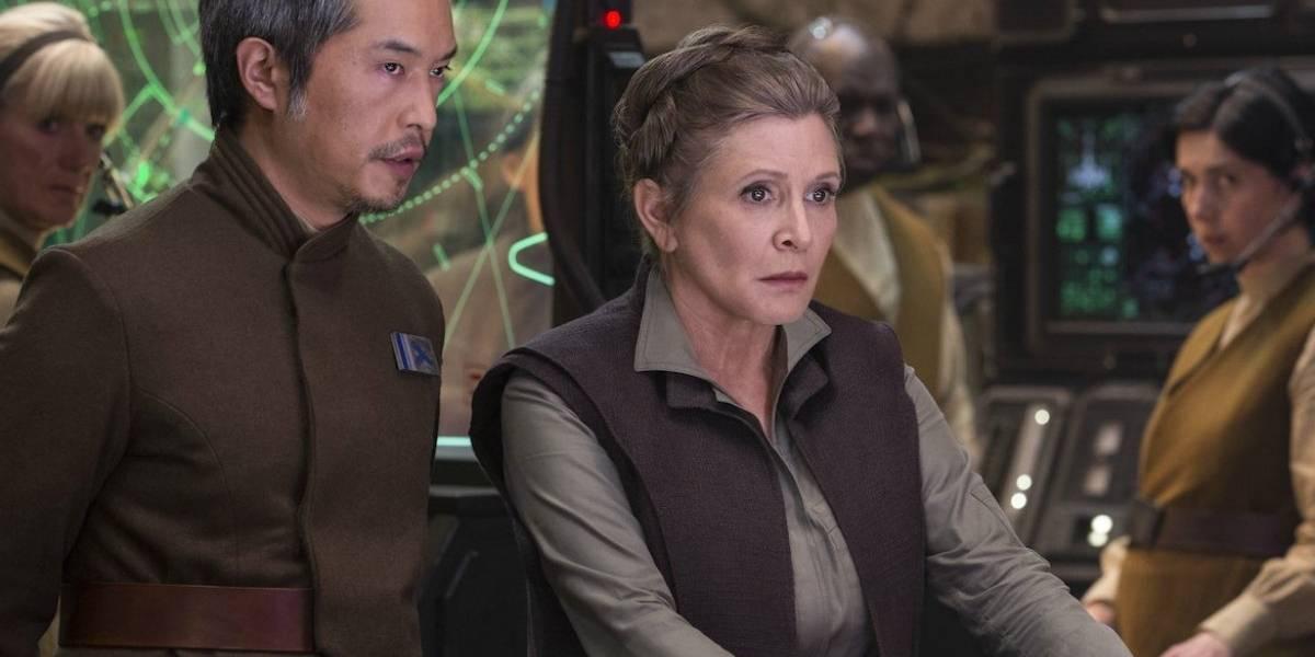 """Oscar Isaac recuerda una de sus escenas más llamativas con Carrie Fisher para """"Star Wars: Los últimos Jedi"""""""