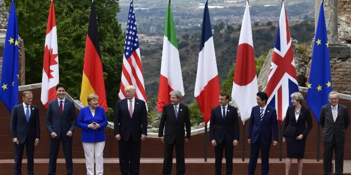 El G7 se une contra el terrorismo, pero sin avances sobre cambio climático... Gracias a EEUU
