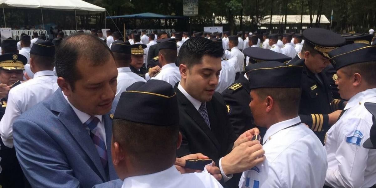 Promueven el ascenso de 226  inspectores y subinspectores en la PNC