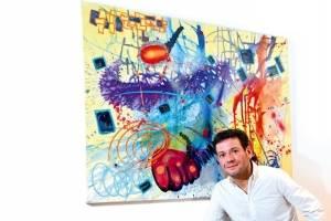 """Joaquín 'Quino' Casarino """"El color es la expresión demi creatividad"""""""
