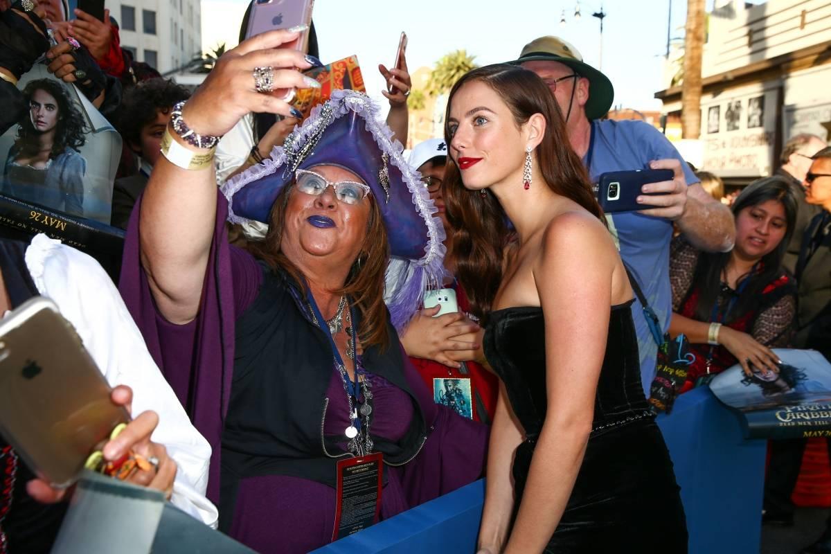 """La británica Kaya Scodelario interpreta a Carina Smyth en """"Piratas del Caribe: La Venganza de Salazar"""". Foto: Walt Disney Studios Motion Pictures"""