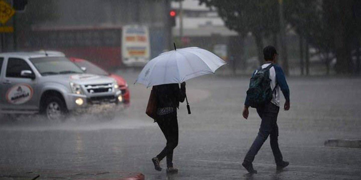 Lluvias podrían incrementarse a partir del miércoles