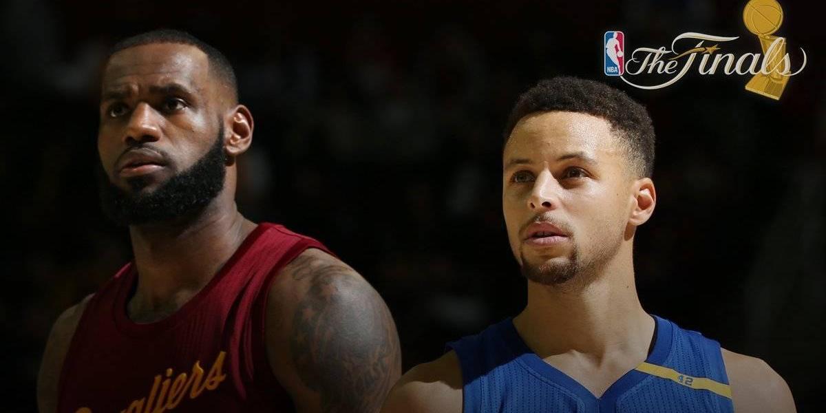 Así se juegan las finales de la NBA entre Golden State y Cleveland