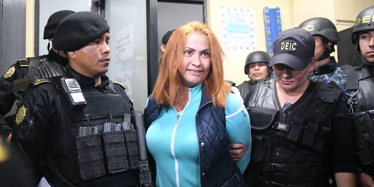 "Marixa Lemus Pérez, alias ""la Patrona"", fue trasladada a Torre de Tribunales"