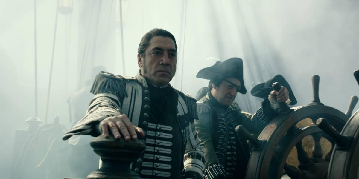 "Javier Bardem narra su abordaje a ""Piratas del Caribe"""