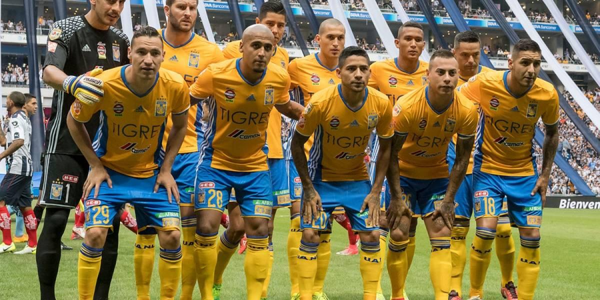 Tigres de Eduardo Vargas empató la primera final del torneo de México