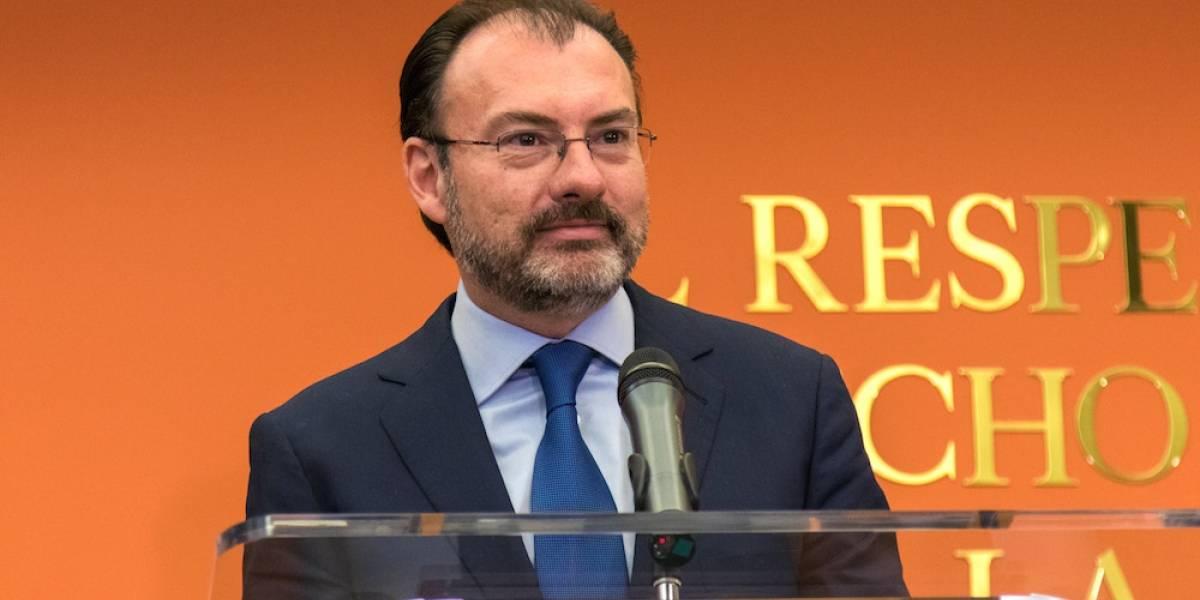 México requiere de EU asuma sus responsabilidades sobre el narcotráfico: Videgaray