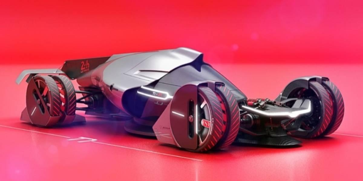 La gran apuesta para Le Mans 2030: un auto eólico
