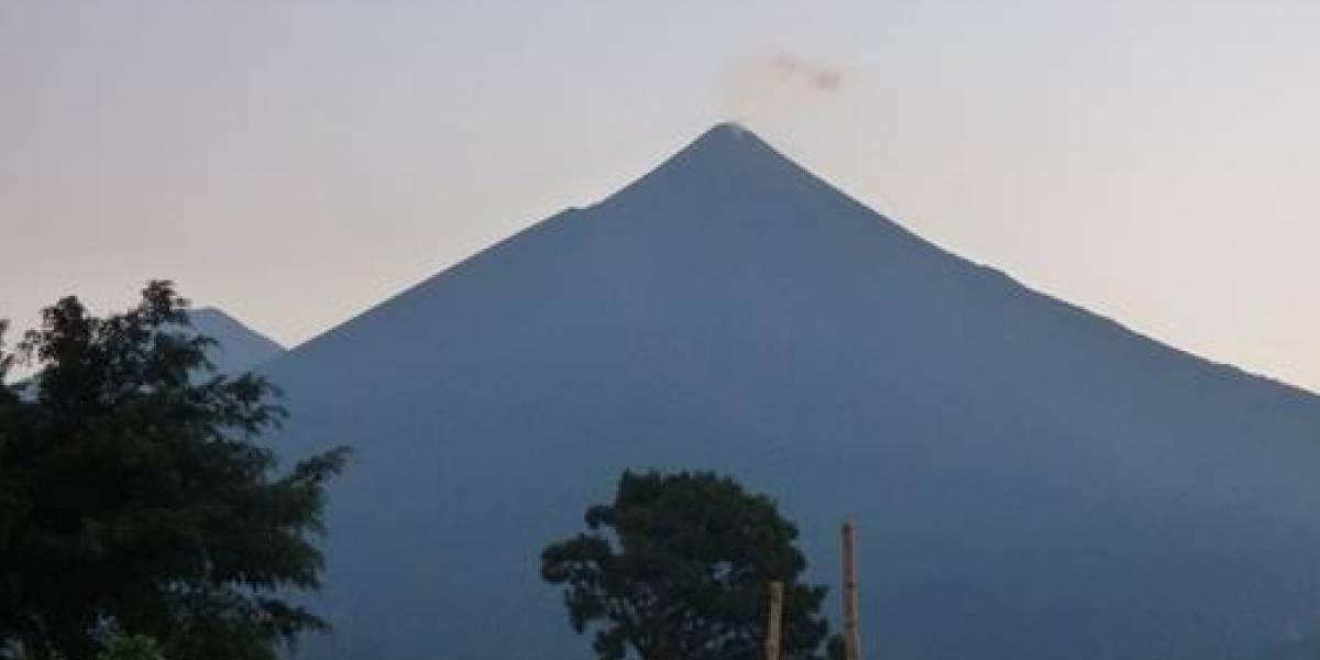 Volcán de Fuego registra incremento de actividad