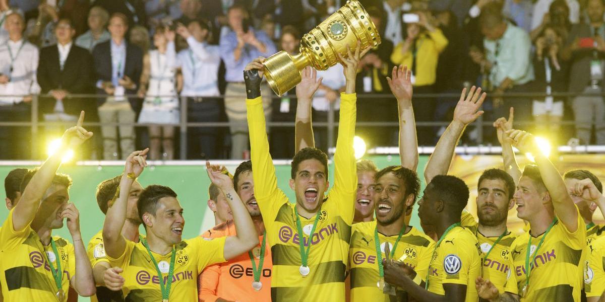 Borussia Dortmund se coronó campeón de la Copa Alemania tras cinco años de sequía