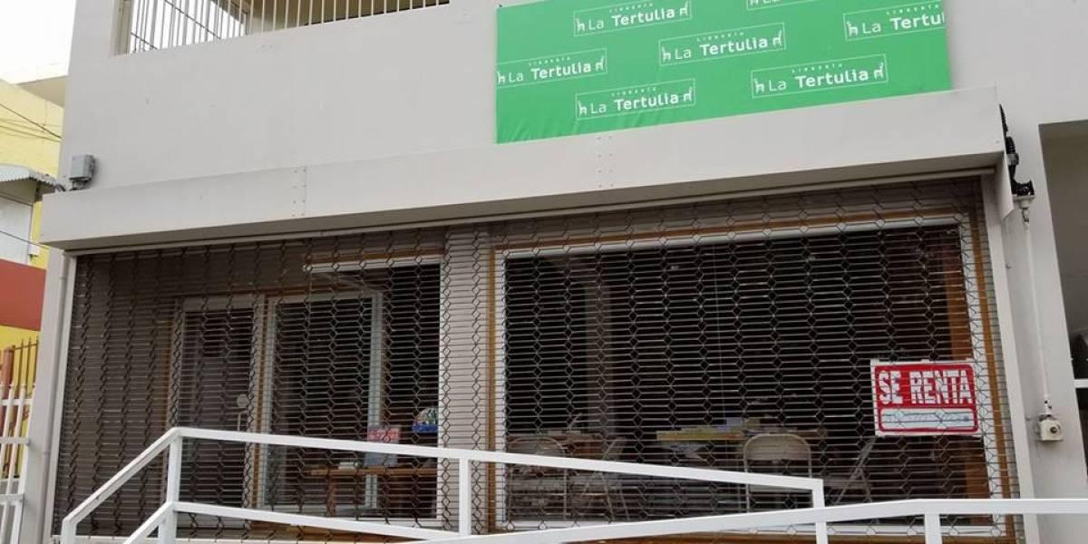 Cierra librería La Tertulia en Río Piedras