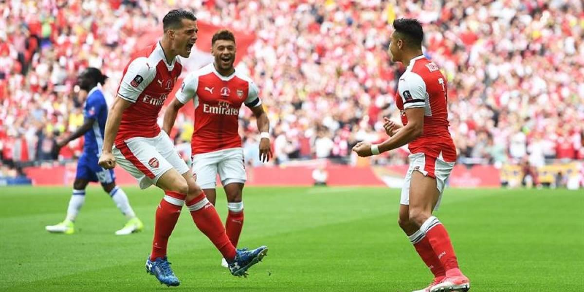 En Directo: Alexis Sánchez tiene en ventaja a Arsenal en la final de la FA Cup ante Chelsea