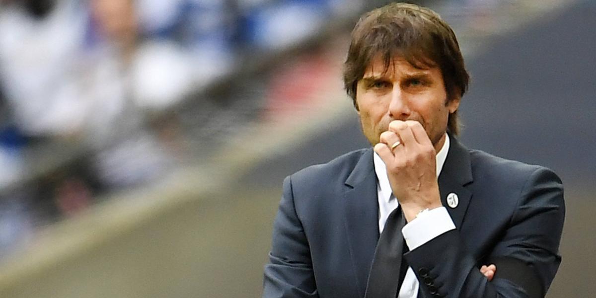 """El reclamo de Antonio Conte tras perder la FA Cup: """"Deberían haber anulado el gol de Alexis"""""""
