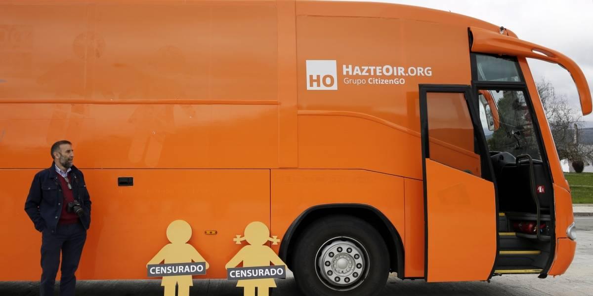 """Hablan los responsables del bus contra la """"ideología de género"""""""