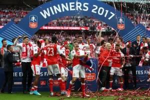 Arsenal le arrebata el doblete al Chelsea, tras coronarse en la FA Cup
