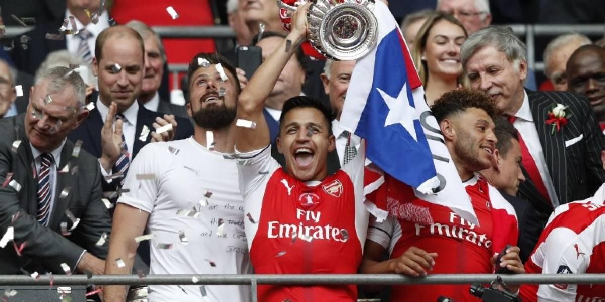 EN IMÁGENES. El Arsenal vence al Chelsea en la final de la FA Cup