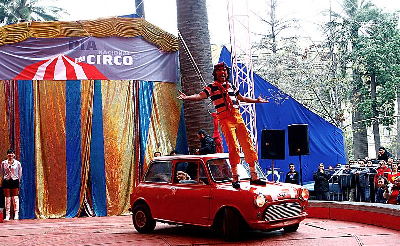 Visitas y homenaje al circo en el Día del Patrimonio