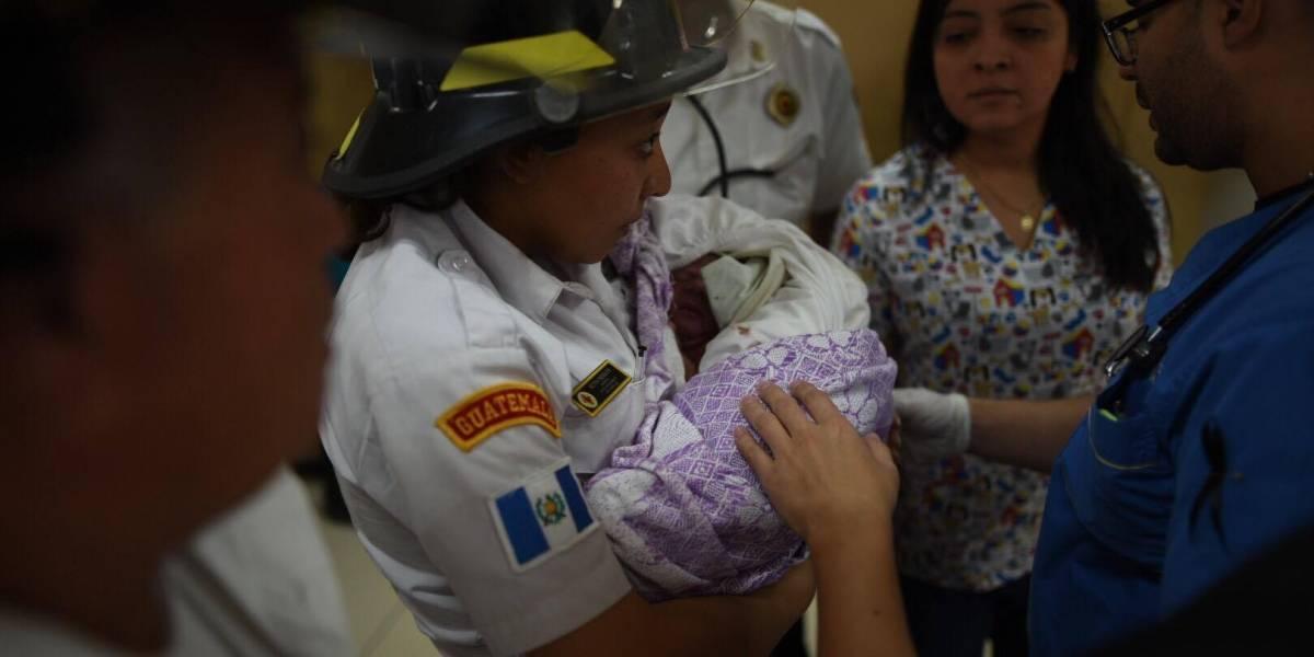 Abandono de recién nacido desata indignación en el Hospital Roosevelt