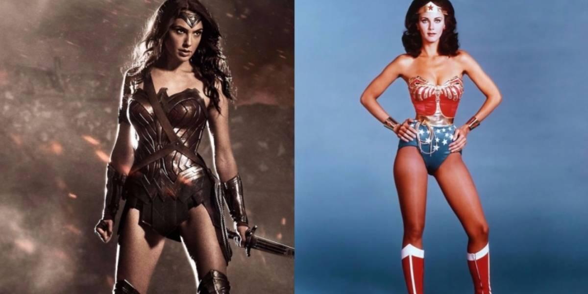 """""""La Mujer Maravilla"""": Las fotos del encuentro de Gal Gadot y Lynda Carter"""
