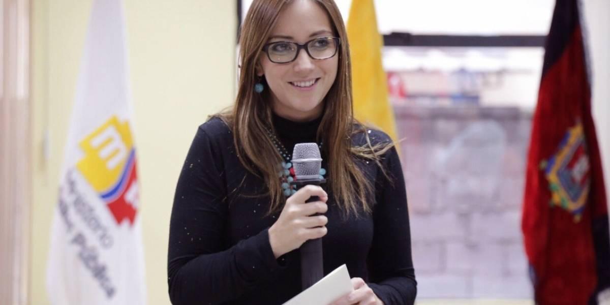 Verónica Espinosa entrega a OPS propuesta de Agenda de Salud Sostenible