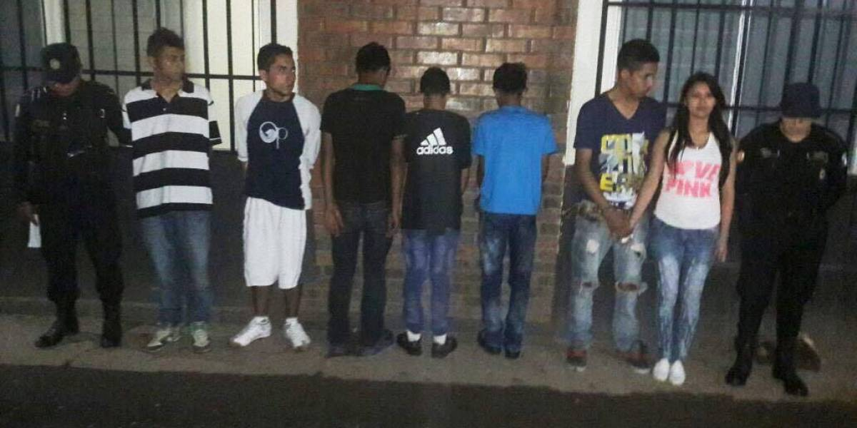 Capturan a siete personas que pretendían ultrajar y asesinar a una mujer de 21 años