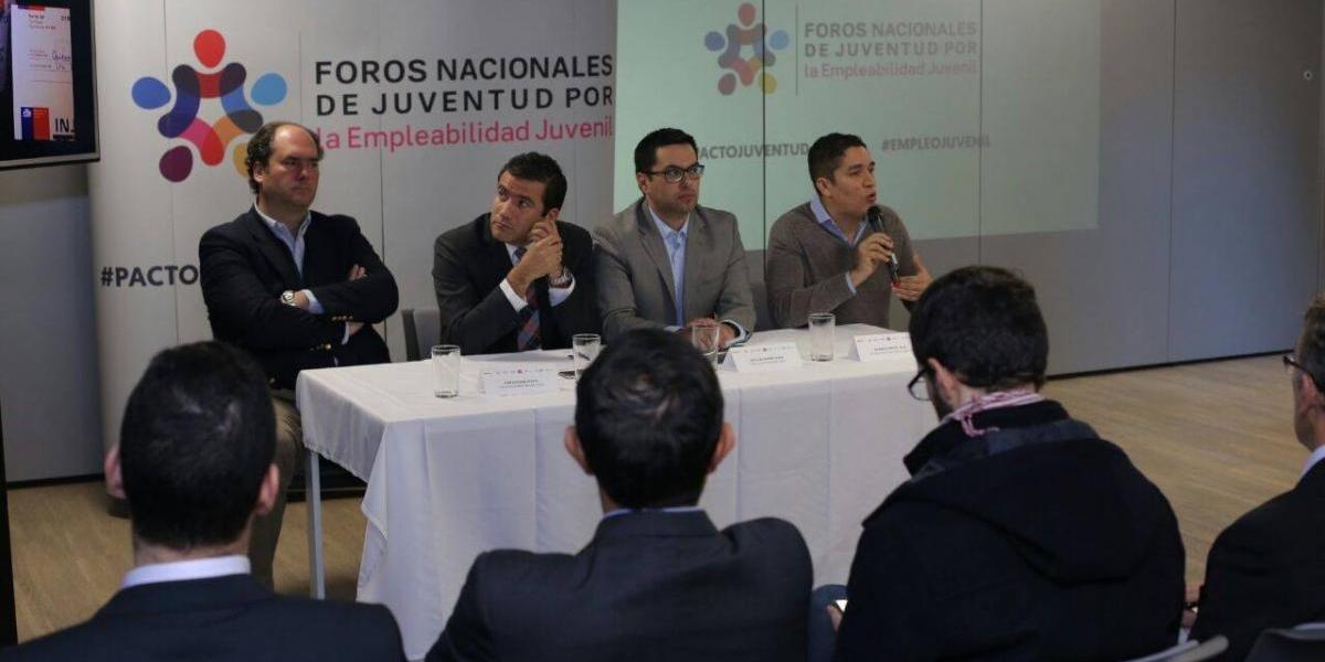 """El empleo fue el foco de la segunda edición de los """"Foros Nacionales de Juventud"""" realizada en Chile"""
