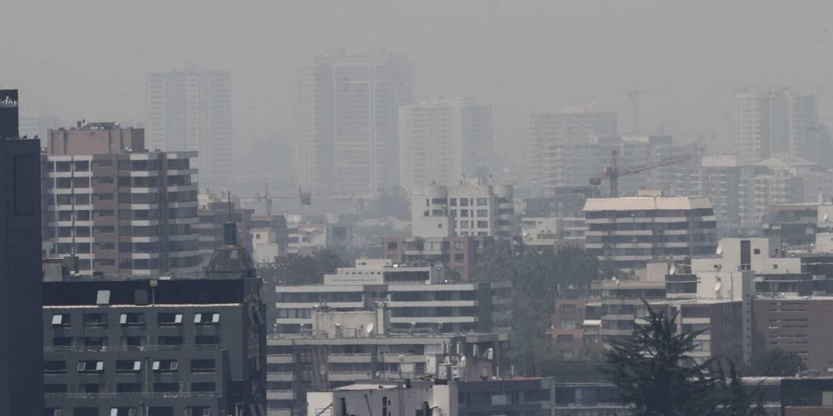 Alerta ambiental se mantiene este domingo en Santiago