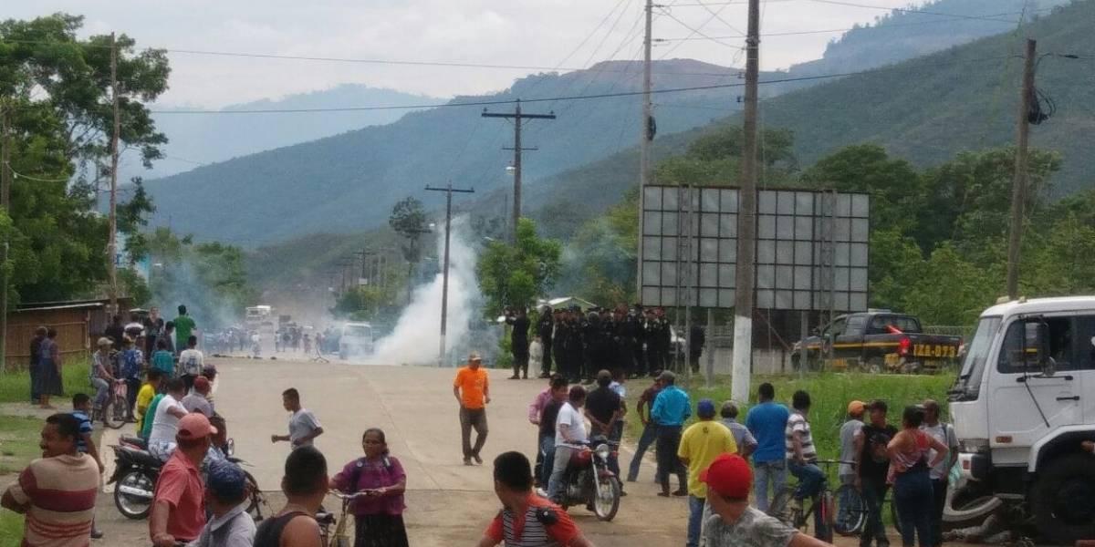 Protesta contra CGN deja un muerto y tres heridos