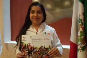 ¡Aplausos! Mexicana con parálisis cerebral consigue récord continental