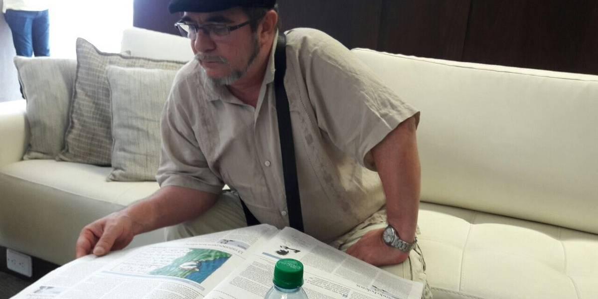 """""""Timochenko"""" regresó a Colombia en el día del 53 aniversario de las FARC"""