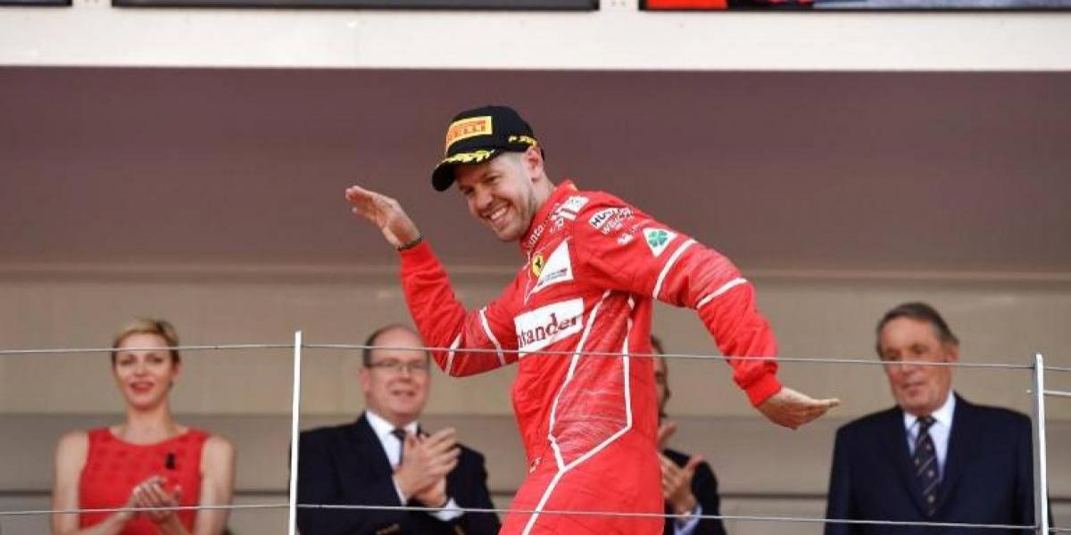 Sebastian Vettel se alzó como ganador del Gran Premio de Mónaco de Fórmula 1