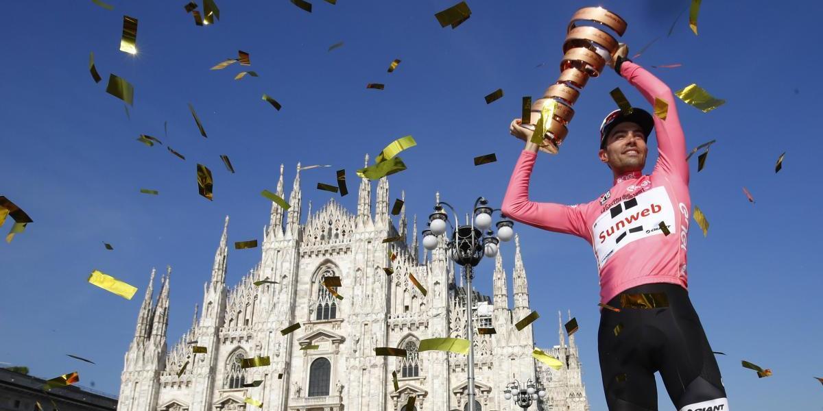 Tom Dumoulin se quedó con el Giro de Italia tras una emocionante final en Milán