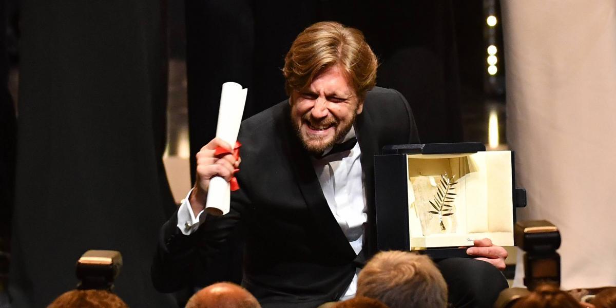 El director sueco Ruben Ostlund se alzó con la Palma de Oro del Festival de Cannes