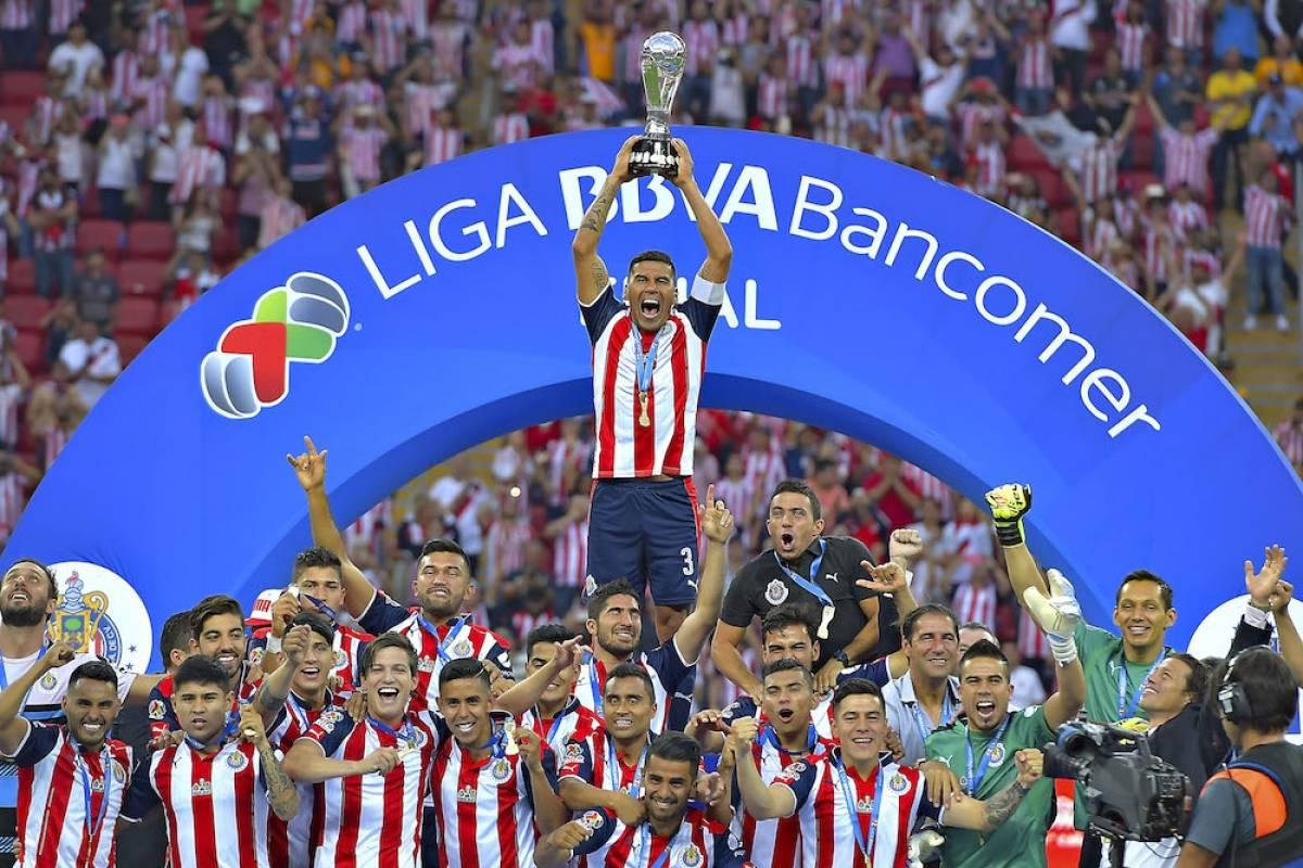El Guadalajara conquistó el doblete del futbol mexicano al ser campeón de Copa y Liga. / Mexsport