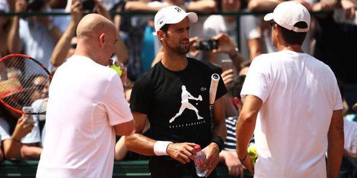 Nadal y Djokovic, listos para su debut en Roland Garros